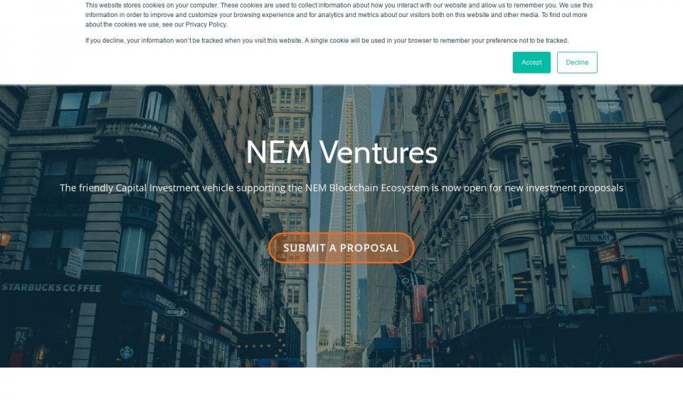From nem startup funding